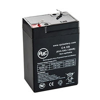 AJC Replacement Battery for Lithonia ELB06042 6V, 4.5Ah Emergency Light Batteries