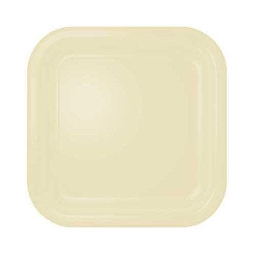 Buttermilk Square Dessert Plate 12 Count