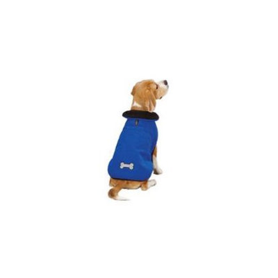 Zack & Zoey Reflective Thermal Jacket Blue, Large