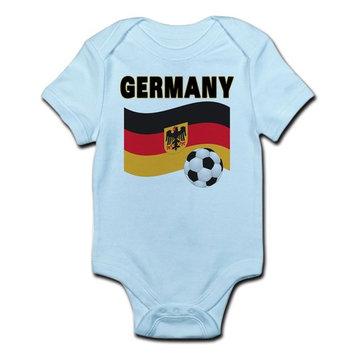 CafePress - Germany Infant Bodysuit - Baby Light Bodysuit