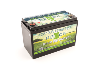RELiON 12V 100AH LITHIUM-ION BATTERY