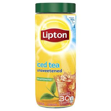 Unilever Lipton Decaffeinated Unsweetened Powdered Iced Tea Mix 30 qt