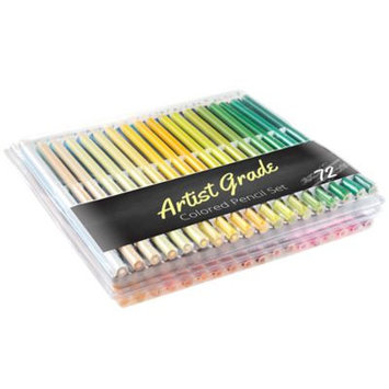 Qvc Set of 72 Pre-Sharpened Colored Pencils by Artist Grade