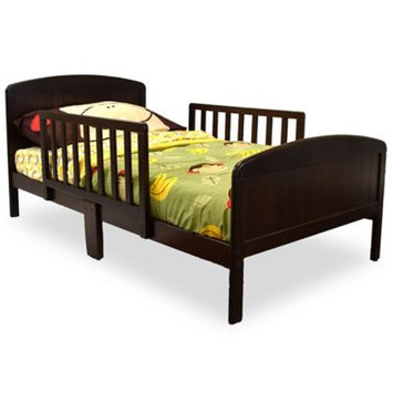 Russell Children Products Harrisburg Wood Toddler Bed Espresso