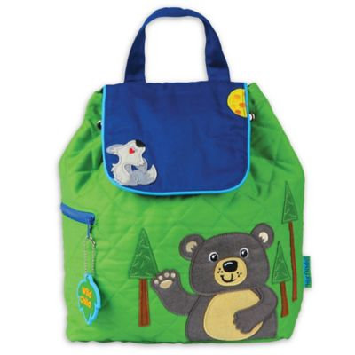 Stephen Joseph Quilted Backpack Bear - Stephen Joseph Everyday Backpacks