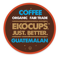 EKOCUPS Artisan Guatemalan Coffee Single Serve Cups For K cups Brewer USDA Certified Organic And Fair Trade, 40 Count