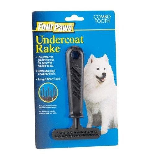 Four Paws Dog Grooming Under Coat Rake