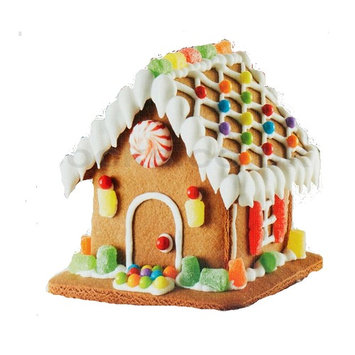 Gingerbread House Decorating Kits for Christmas with bonus Recipe