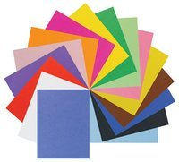 Pacon Corporation Railroad Poster Board, 6-Ply, 25 Sheets/CT, Black