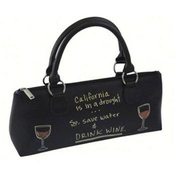 Primeware, Inc Primeware PRIME3020CH Wine Clutch Chalk Fabric