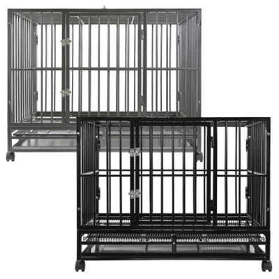 SmithBuilt Heavy Duty Dog Cage Crate Kennel - Multiple Colors Available