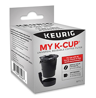 Keurig® My K-Cup® Universal Reusable Filter, Multicolor