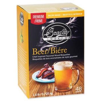 Bradley Smoker Beer Flavor Bisquette - 48 pack SKU: BTBR48