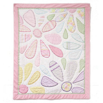 Nurture Generations Nurture Imagination Mix & Match Crazy Daisy Quilt