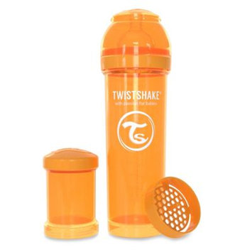 Twistshake Anti-Colic 330ml Bottle in Orange