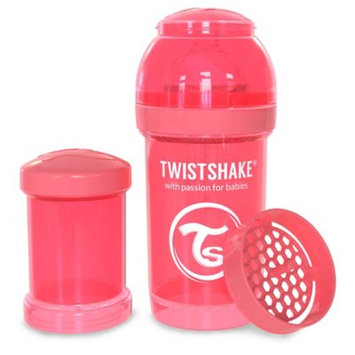 Twistshake Anti-Colic 180ml Bottle in Peach