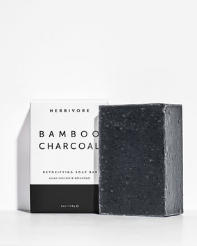 Herbivore Bamboo Charcoal Detoxifying Soap Bar 4 oz