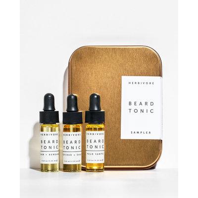 Herbivore Beard Tonic Sampler