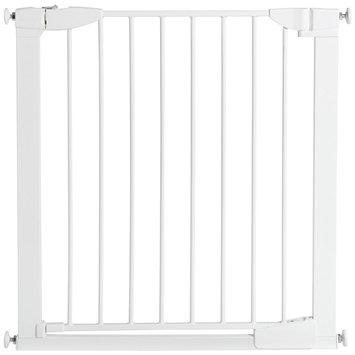 Munchkin Auto-Close Metal Gate - Safety Gate, White