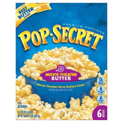 Pop-secret Pop Secret Movie Theatre Buttered Popcorn 6 ct