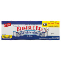 Bumble Bee Solid White Albacore Tuna in Water 3 pk
