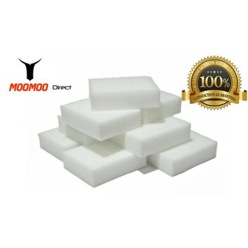 MOOMOO Premium Magic Cleaning Eraser Sponge Melamine Foam High Quality(40 Pack)
