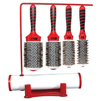 iTech Magnetic Tourmaline Nylon & Boar Bristle 4-Piece Brush Set 1 kit