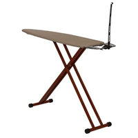 Household Essentials Bamboo Leg Ironing Board, Brown Oth