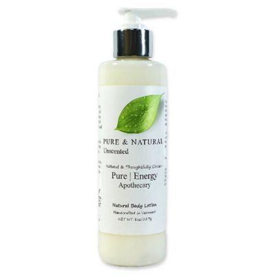 Pure Energy Apothecary Pure and Natural 8 oz. Unscented Body Lotion