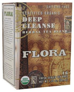 Flora Organic Deep Cleanse Herbal Tea Blend 16 Tea Bags