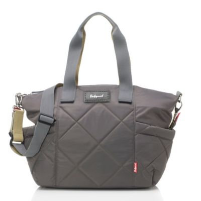 Babymel Evie Quilted Changing Bag, Charcoal