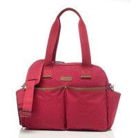 BabyMel™ Jesse Diaper Bag in Red