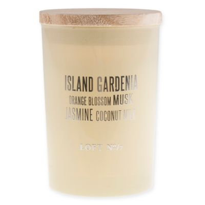 Loft 7 Sweet Island Gardenia Crisa Candle