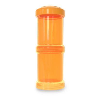 Twistshake 100ml Powder Box 2 Pack in Orange