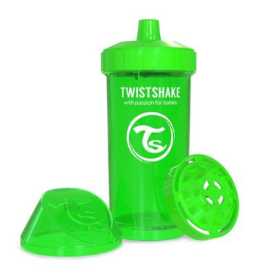 Twistshake 12 oz. Plastic Kid Cup in Green