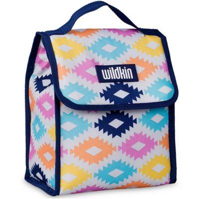 Wildkin Munch n Lunch Bag Aztec - Wildkin Travel Coolers