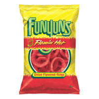 Frito Lay Funyuns Flamin Hot Onion Flavored Rings 6.5 oz