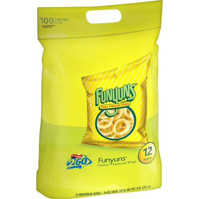 Frito Lay Funyuns Onion Flavored Rings Singles 12 ct