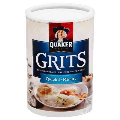 Quaker Family Size Original Flavor Instant Grits 18-oz.