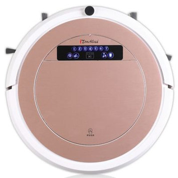 iTouchless UV-C Sterilizer Robot Vacuum Cleaner with Hepa Filter with Wet Mop Kit - Rose Gold, Reds/Pinks