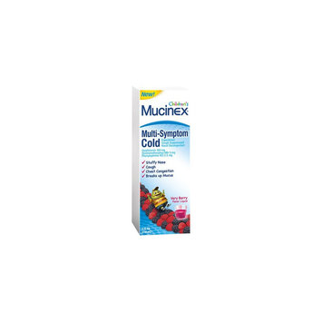 Reckitt Benckiser Children's Mucinex Multi-Symptom Cold Very Berry - 4oz