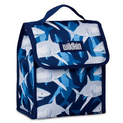 Wildkin Munch n Lunch Bag Sharks - Wildkin Travel Coolers