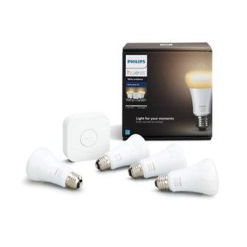 Philips Hue White Ambiance Starter Kit (4-Pack)