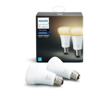 Philips 60W Equivalent Hue White Ambiance A19 LED Bulb (2-Pack)