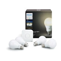 Philips Hue White Starter Kit (4 bulbs)