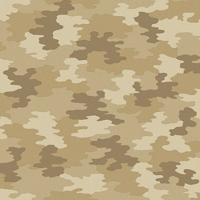 Blue Mountain Wallcoverings Blue Mountain Camouflage Wallcovering, Light Olive