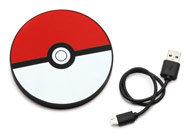 Poké Ball Portable Disc Charger by ThinkGeek