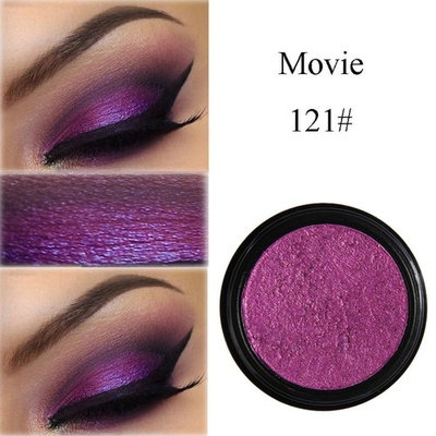 PHOERA Glitter Shimmering Color Eye Shadow Powder Palette Metallic Eyeshadow Palette Cosmetic Makeup By DMZing