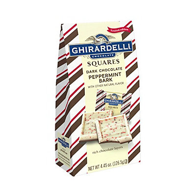Ghirardelli Chocolate Squares Dark Chocolate Peppermint Bark