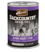 Merrick Backcountry Stew Alpine Rabbit 12.7 oz Can